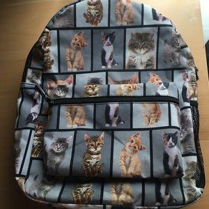 Handbags - Kitten Backpack